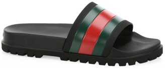 Gucci Web Slide Sandals