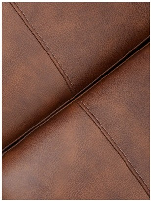 Hampshire 3 Seater Left Hand Premium Leather Corner Chaise Sofa