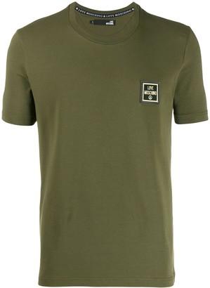 Love Moschino logo slim fit T-shirt