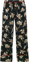Marni floral print pyjama trousers - women - Silk - 38