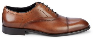 Bruno Magli Lace-Up Leather Oxfords