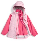 The North Face Toddler Girl's Stormy Rain Triclimate Waterproof & Windproof 3-In-1 Jacket