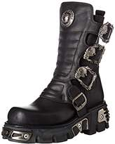 New Rock Unisex Adults M-391x-s1 Biker Boots Black Size: 11 UK