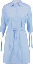 Eight Cotton-blend poplin shirt dress