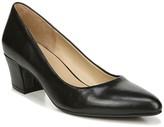 Naturalizer Carmen Leather Block Heel Pump - Wide Width Available