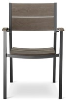 Threshold Sommer Aluminum/Faux Wood Dining Chair set of 4