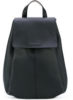 Orciani flap backpack