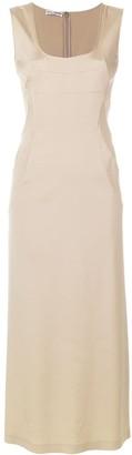 Dolce & Gabbana Pre-Owned sleeveless bodycon maxi dress