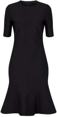 St. John Flare Hem Dress