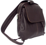 Piel Leather Small Drawstring Backpack 9821