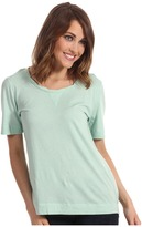 Vince Camuto TWO by Jersey Rayon Tee (New Mint) - Apparel