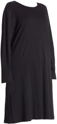Joan Vass, Plus Size One Pocket Cotton Dress