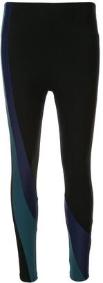 Lanston Sport Vault Curve Legging(Mid Rise, Ankle Length)