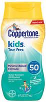 Coppertone Kids Tear Free Mineral Sunscreen SPF 50