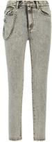 Marc Jacobs Embellished Appliquéd High-rise Skinny Jeans - 25