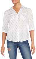 Saks Fifth Avenue RED Riley Printed Blouse