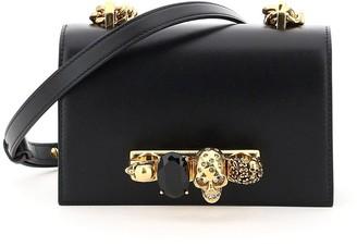 Alexander McQueen Mini Jewelled Satchel Bag
