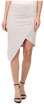 Alternative Modal Asymmetrical Skirt