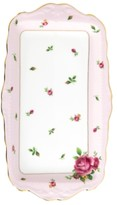 Royal Albert Old Country Roses Pink Vintage Sandwich Tray