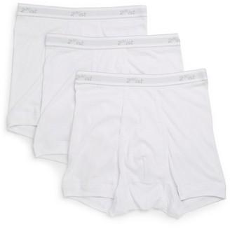 2xist Cotton Elasticized Waist Boxers- Set of 3
