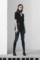 J Brand Maria High-Rise Skinny in Fleeting