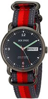 Jack Spade Men's WURU0135 Stainless Steel Conway Watch with Multicolor Nylon Band