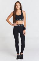 MUMU Rozaline Logo Skinny Leggings ~ Black Firm Stretch