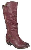 Rieker Women's Sierra Long Boots 36 M EU/ 5.5-6 B(M) US Wine