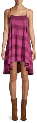 Free People Sleeveless Printed High-Low Dress