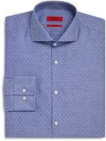 HUGO Dobby Dot Slim Fit Dress Shirt