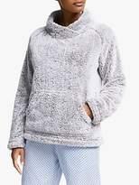 John Lewis Hi-Pile Fleece Snuggle Top, Grey