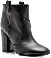 Laurence Dacade Pete Nubuck Leather Ankle Boots in Black