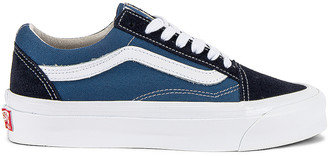 Vans OG Old Skool LX in Navy & STV Navy | FWRD