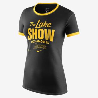 Nike Women's Dri-FIT NBA T-Shirt Lakers Mantra
