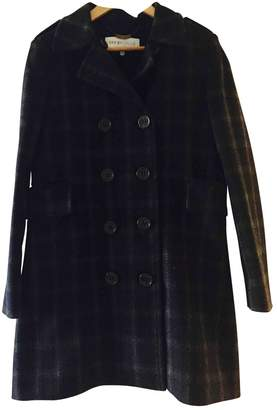 See by Chloe Anthracite Wool Coat for Women