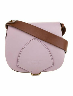 Burberry Bridle Mini Crossbody gold
