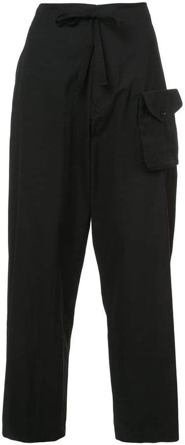Y's detachable pocket trousers