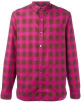 Burberry checked print shirt