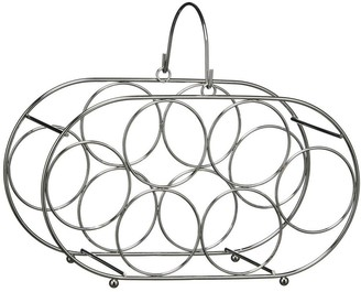 Premier Housewares Metal Wire 6-Bottle Wine Rack
