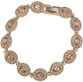 Carolee Gold-Plated Oval Flex Bracelet