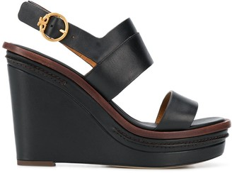 Tory Burch Selby 120mm wedge sandals