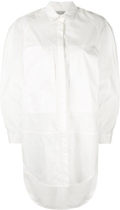 Lee Mathews Long-Line Shirt