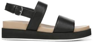 Via Spiga Davi Leather Platform Walking Sandals