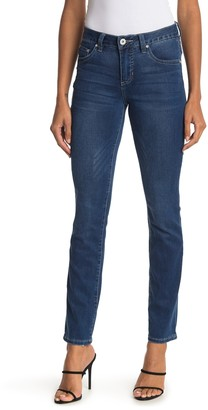 Jag Jeans Ellen Embroidered Straight Jeans