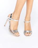 New Look Metallic Barely There Heel