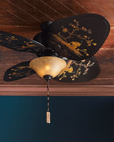 Chinoiserie Ceiling Fan
