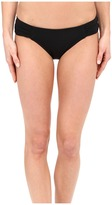 Jets Illuminate Gathered Side Hipster Bikini Bottom