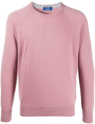 Barba Long-Sleeve Cashmere Jumper