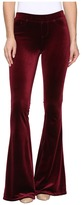 Blank NYC Velvet Burgundy Pull-On Flare in Burgundy Lush