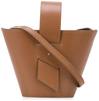 Carolina Santo Domingo Amphora mini leather tote